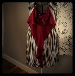 GAMEDAY  houndstooth dress